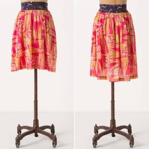 Anthro Vanessa Virginia Hi-Lo Tamarind Skirt 2